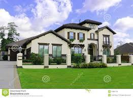 urban park set among luxury spanish style homes royalty free stock beautiful southern homes royalty free stock photo