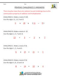 bodmas worksheets pemdas challenges 3ans gif 1000 1294