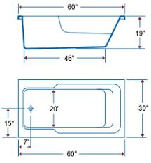 Bathtubs Sizes Standard Bathtub Standard Size Crowdbuild For