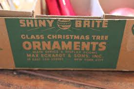 the story vintage shiny brite ornaments