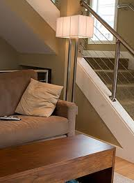 Chrome Banister Modern Handrail Designs That Make The Staircase Stand Out