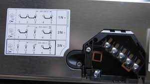wiring instructions for a bosch pke611c14d ceramin hob in the uk