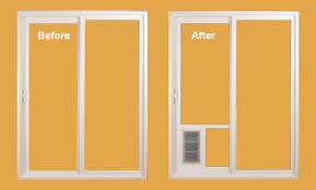 Vinyl Pet Patio Door Pet Patio Door Installation Homestar Windows Doors Ut