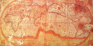 European World Map by 17th Century Chinese World Map Actually Seems To Be More Complete