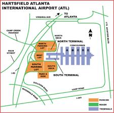 atlanta international airport map airguide airports atlanta hartsfield international
