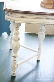antique turned leg table u0026 a mirror perfectly imperfect blog