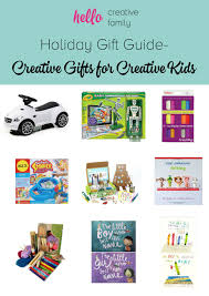 creative gifts for gift guide gift ideas for creative kids with