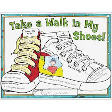 Decorate Shoes Ready To Decorate Take A Walk In My Shoes Posters