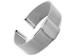 steel bracelet strap images Bremen fine milanese mesh metal watch strap bracelet steel or gp jpg