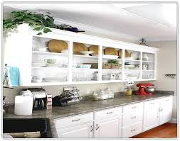 open kitchen cabinet ideas open kitchen cabinets no doors kitchen cabinets no doors open