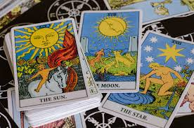 the tarot cards the meaning cards is the sun the moon and