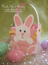 easter bunny baskets easter bunny basket and punch page stinwithjacque