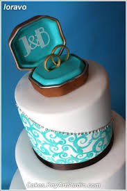 exceptional turquoise wedding rings 5 chocolate brown and