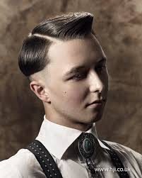 men hair styles in 30 s 2015 30s inspired quiff with strong parting and step to fade hji