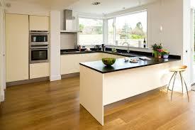 Contemporary White Kitchen Cabinets Elegant U Shape Black And White Kitchen Decoration Using Modern
