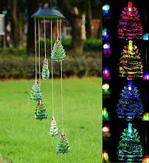 Solar Powered Christmas Tree Lights by Rockbirds 200 Led Outdoor Solar Powered String Lights Waterproof