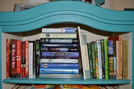 what u0027s on your bookshelf the messy author edition caroline