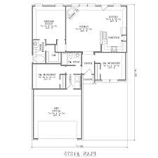 level house plans with attached garage