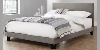 buy bianco king bed simple contemporary silver from the next uk