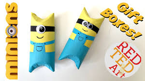 minion gift bags diy gift box ideas ted s