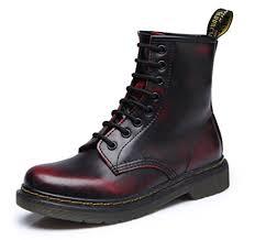 ubeauty bottes femme martin bottes boots flattie sport