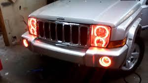 jeep commander black headlights jeep commander oracle light