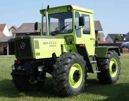 mercedes benz mb trac 1000 tractor mania pinterest