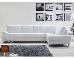 Modern Furniture Stores In Chicago by White Or Latte Leather Sectional Sofa Set 44l6064