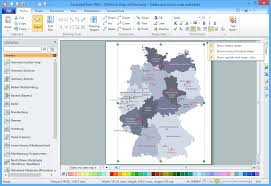 Germany Political Map by Map Of Germany Solution Conceptdraw Com