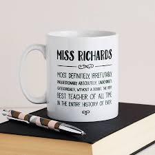 irrefutably best teacher ever personalised mug by cloud 9 design