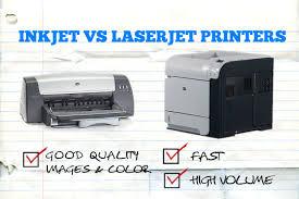 inkjet vs laser printer for home office u0026 small business printing