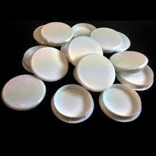 35mm white plastic hinge hole cover caps for kithcen cabinet