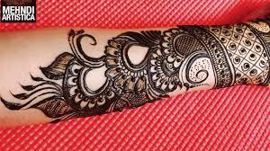 designer wrist mehndi design for haathphool mehendi