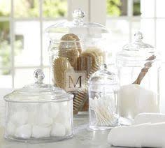 Bathroom Glass Storage Jars The Anatomy Of Accessorizing A Bathroom 10 Tips Apothecaries