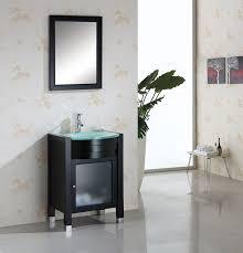 Single Sink Bathroom Vanity by Abersoch 23 Inch Espresso Finish Bathroom Vanity Set
