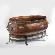 Copper Firepit Jatex International Blackstone Oval Copper Pit 52 Inch