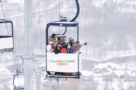 winter zipline and snowtubing package at mountain creek