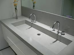wide basin bathroom sink best choice of 25 concrete countertops bathroom ideas on pinterest