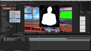 News Studio Desk by After Effects Virtual News Desk Tutorial Youtube