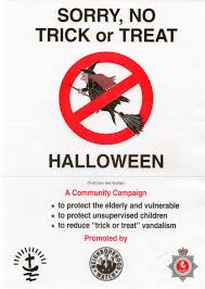 say no to halloween sign halloween vince u0027s dark delights say