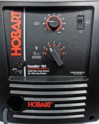 hobart 500554001 handler 190 with spoolrunner 100 mig welding