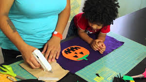 plastic halloween bags how to make a trick or treat candy bag for halloween youtube