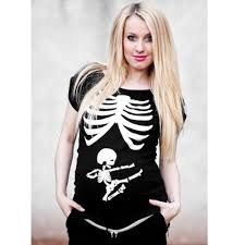 pregnant halloween shirt skeleton online get cheap skeleton maternity shirt aliexpress com
