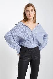 peekaboo blouse tops poshsquare