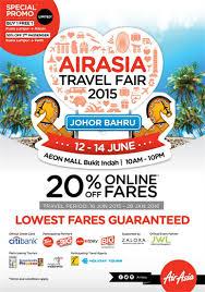 airasia travel fair asia travel fair 2015