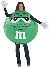 m m costume green m m costume costumes other