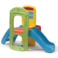 amazon com step2 play ball fun climber with slide for toddlers