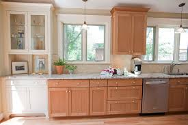 interesting natural cherry kitchen cabinets and natural cherry