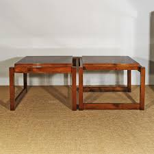 vintage cubist coffee tables set of 2 for sale at pamono