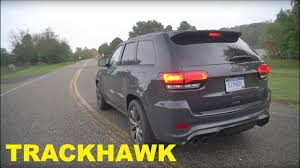 jeep trackhawk back the 2018 jeep grand cherokee trackhawk is the best hellcat youtube